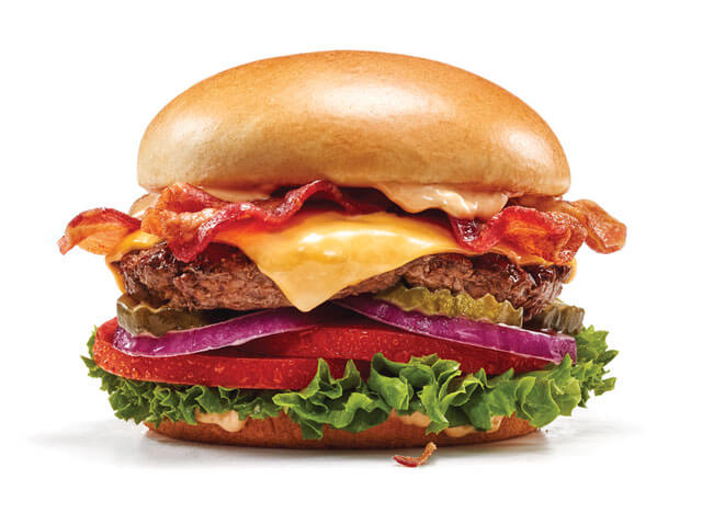 The Classic with Bacon Steakburger